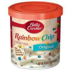 American Rainbow Chip Frosting 16oz | Betty Crocker | Buy Online | UK | Europe